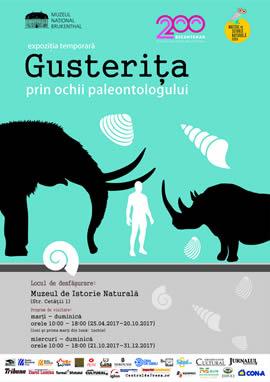 Exhibition: Guşteriţa through the eyes of the paleontologist