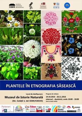 Expoziţia: Plantele în etnografia săsească