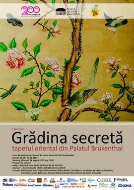 Exbition: Secret Garden: the Oriental Wallpaper from Brukenthal Palace