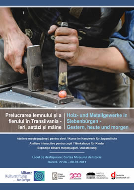 Ten years since the opening of the first journeymen workshops in Sibiu