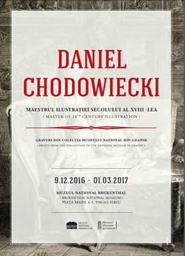 Exhibition: Daniel Chodowiecki, master of the 18th c. illustration. Prints from the collection of National Museum in Gdańsk