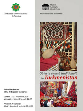 Exhibition: Objects of Traditional Art from Turkmenistan