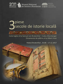 Exhibition: 3 objects, 3 centuries of local history