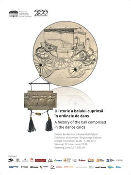 Exhibition: A history of the ball comprised in the dance cards