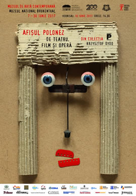 Exhibition: Theatre, film and opera Polish posters from Krzysztof Dydo Collection
