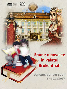 During 1 – 30 November 2017, Brukenthal National Museum organizes the Creativity Contest for Children entitled