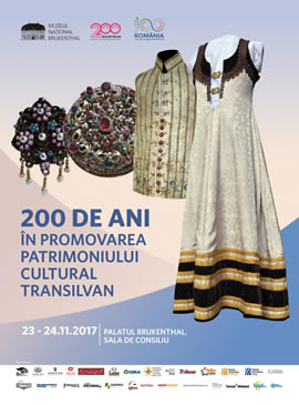 Scientific Symposium: 200 years in promoting the Transylvanian cultural heritage
