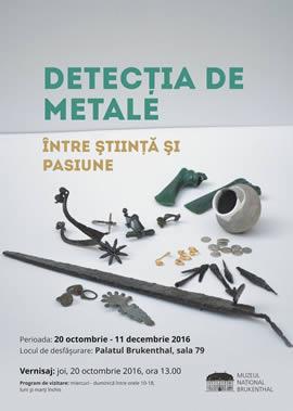 Expoziţia: Detecția de metale, între știință și pasiune