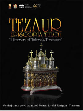 "The Banat Village Museum and Diocese of Tulcea in partnership with Brukenthal National Museum and Painter Octavian Smigelschi Cultural Association are inviting the public to the ""Diocese of Tulcea's Treasure"" exhibition opening on May 12, 2:00 pm."