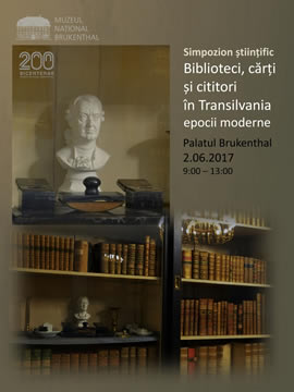 Scientific symposium: Libraries, books and readers in modern times Transylvania